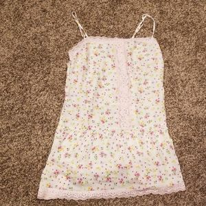 Victoria's Secret flower nightgown